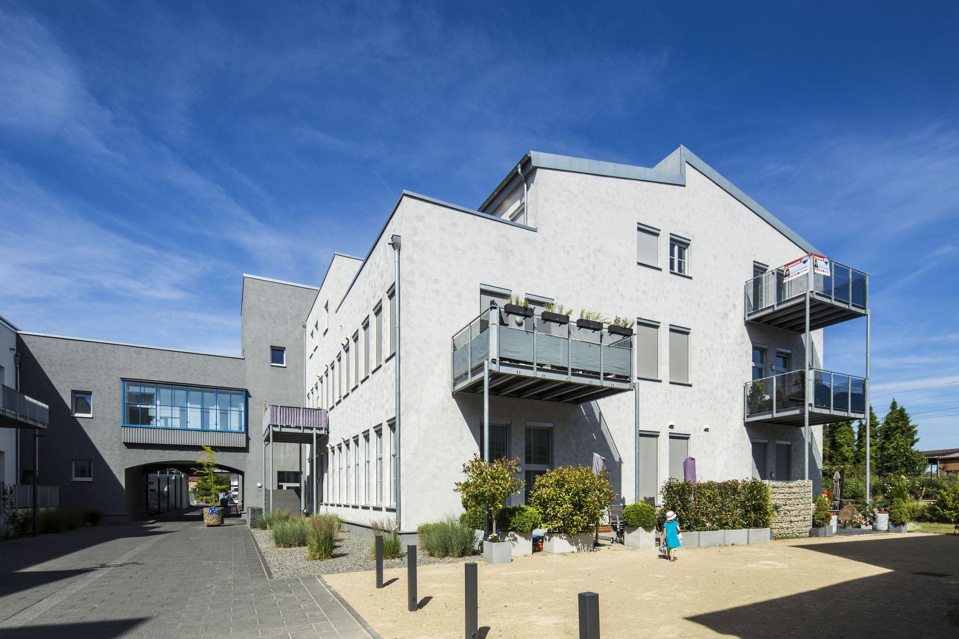 Bobinet Halle 2-3 Außenfassade