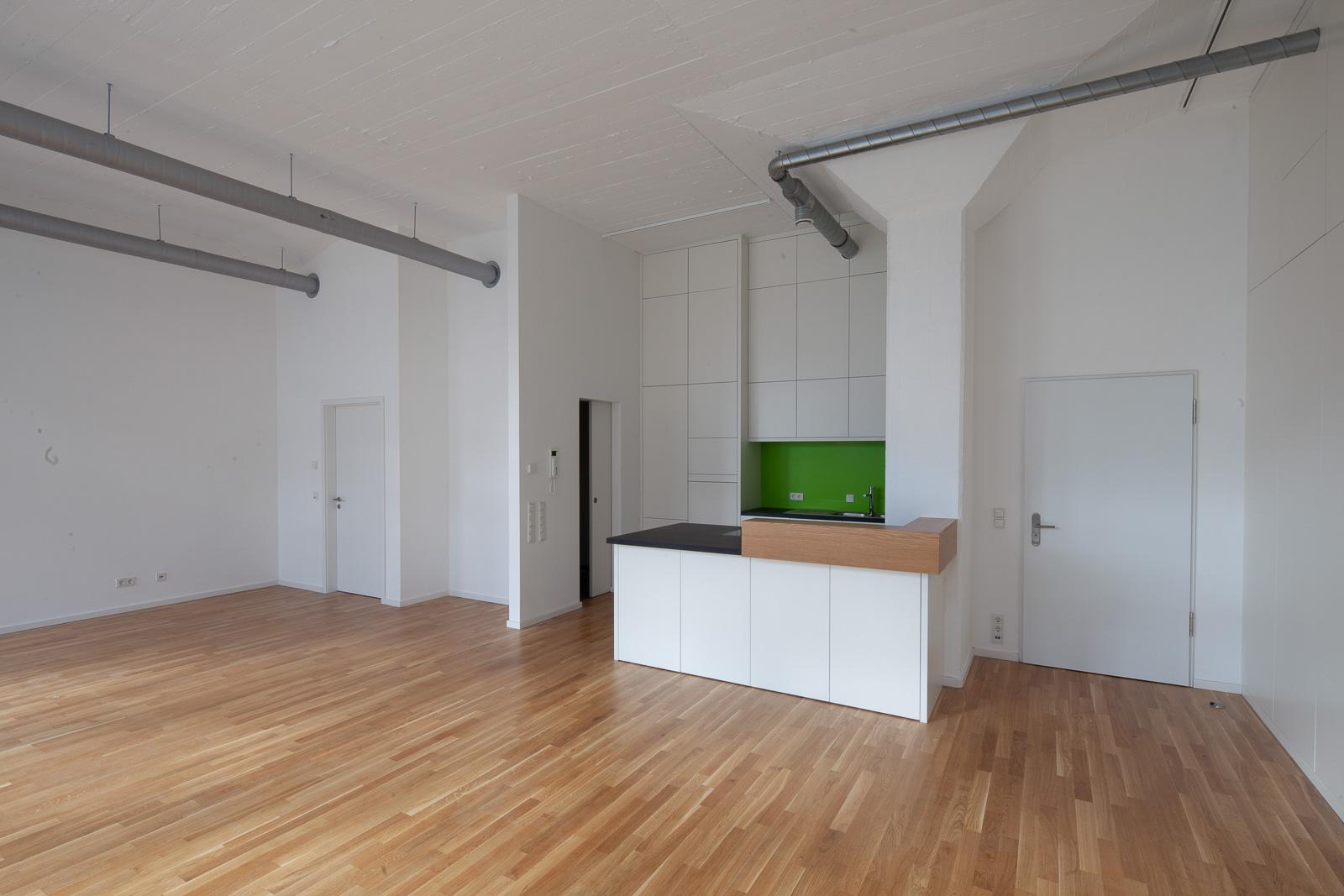 Bobinet Halle 5 Innenraum Küche
