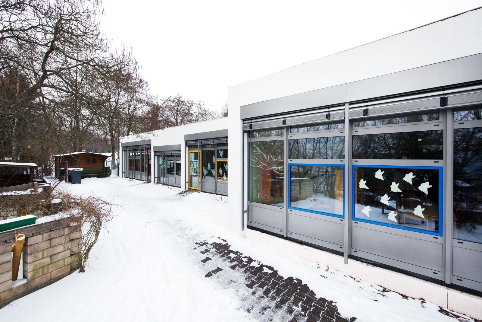 Pantoffeltierchen Kindergarten Gusterath Bestandsgebäude energetische Sanierung
