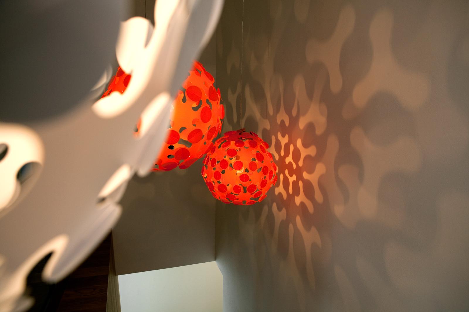 Pantoffeltierchen Kindergarten Gusterath Lampen Lichtspiel
