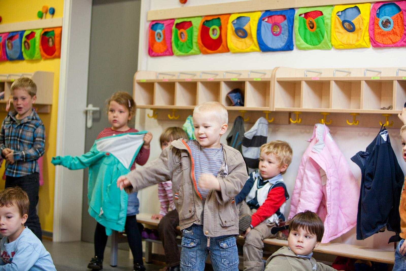 Pantoffeltierchen Kindergarten Gusterath Momentaufnahme Spielflur