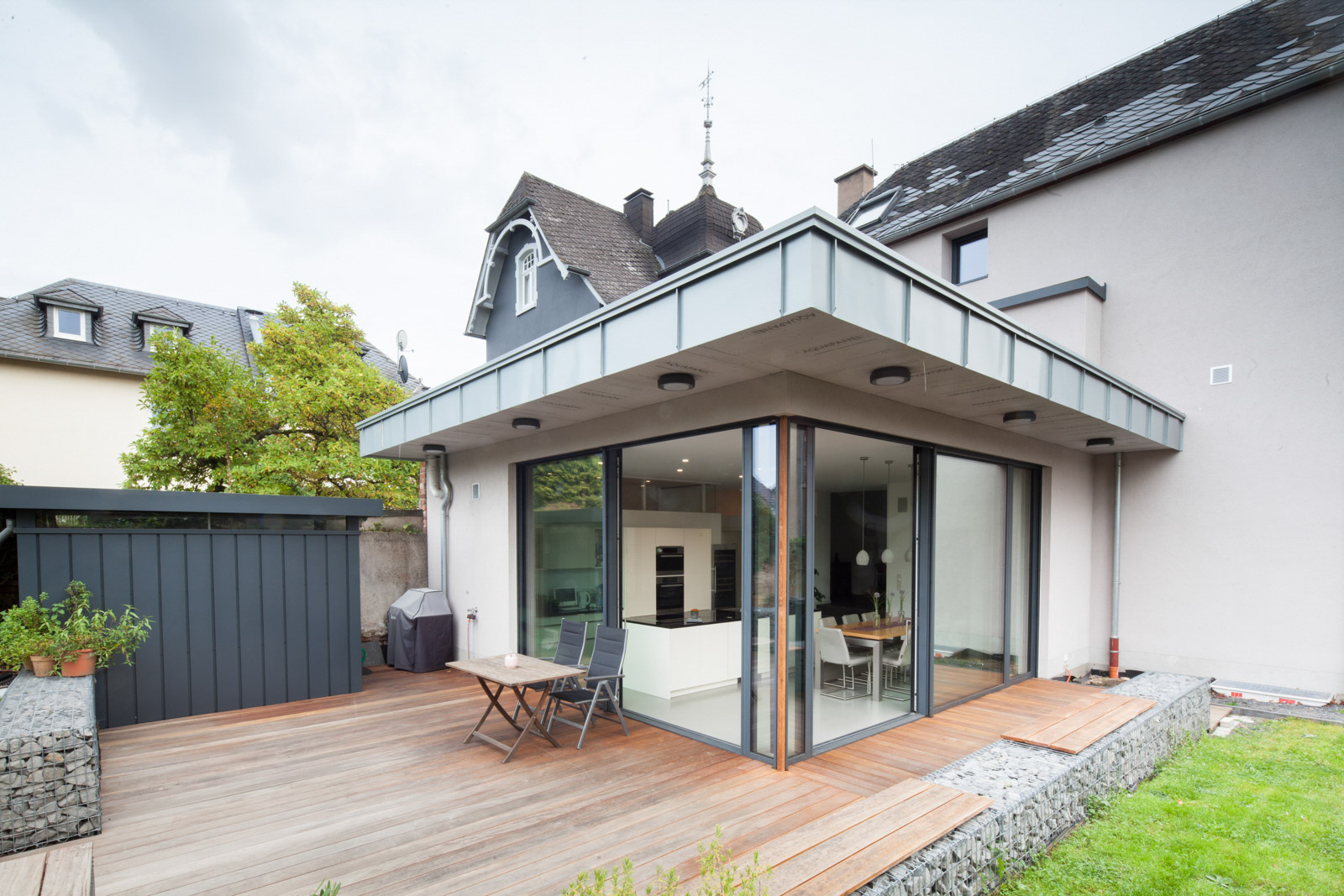 Wohnhaus Wittlich Terasse
