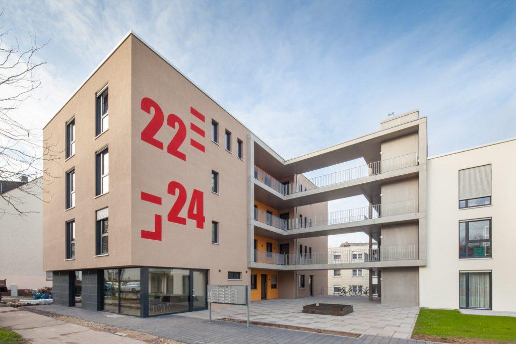 Wogebe Thyrsusstraße 22-24 Außenfassade