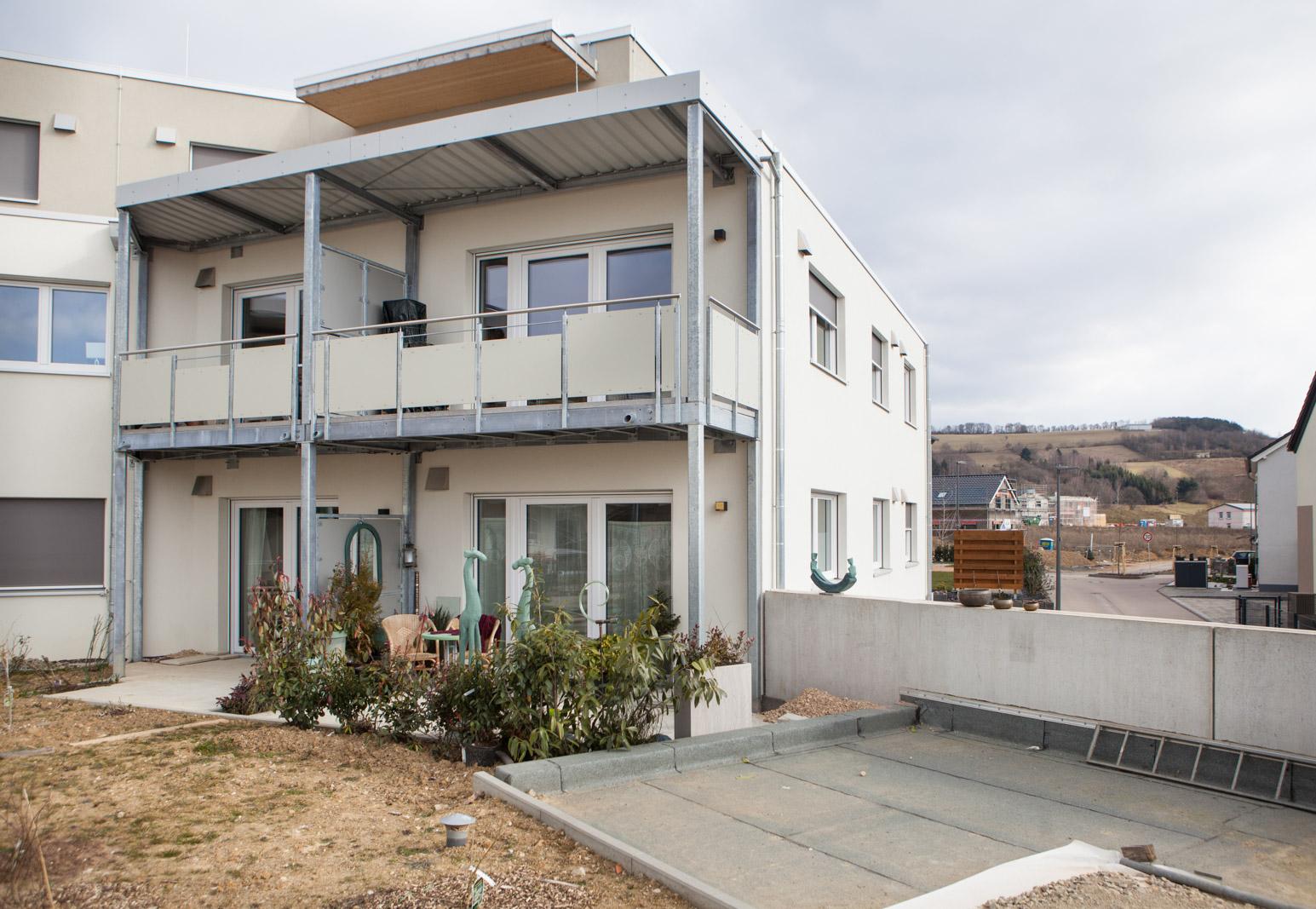 Mehrgenerationenhaus Außenfassade